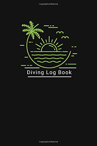 Diving logbook: funny total ssi dive log book, gifts for men, women, navy, diver, scooba diving coach