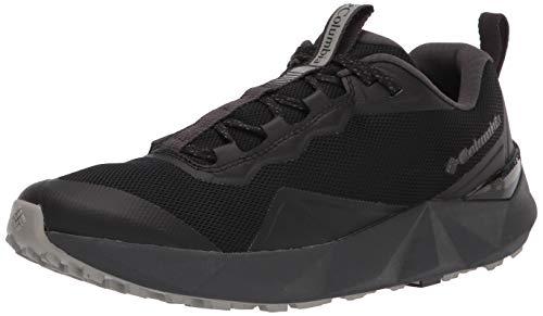 Columbia Facet 15, Zapatillas para Caminar Mujer, Negro, Gris y Verde, 40.5 EU
