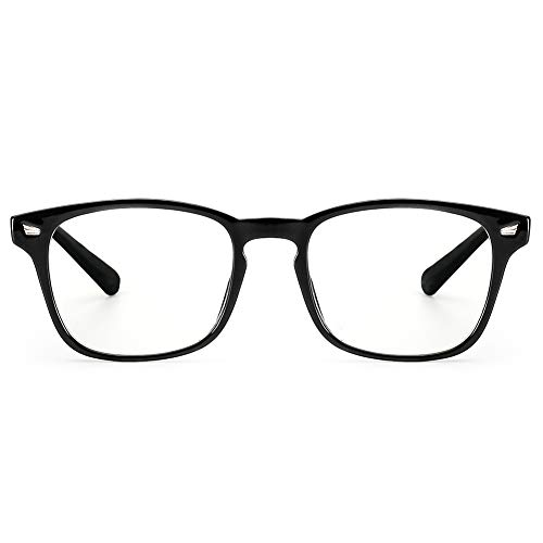 Cyxus - Gafas de sol para ordenador con filtro de luz azul para bloquear el dolor de cabeza creado por los rayos UVA [antifatiga ocular] Gafas vintage, unisex (hombre/mujer)