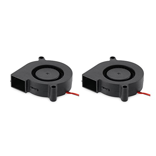 Guangcailun Small Heat Dissipation Cooling Fan Blower 3D Printer Industry Turbine Accessory DC 12V 24V Cooler for 5010