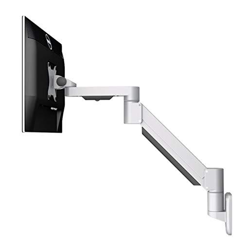 sunyu Brazo Monitor, Soporte para Monitor LCD LED 13 a 27 Pulgadas Brazo Giratorio, Bastidor de elevación de Brazo telescópicoSilver