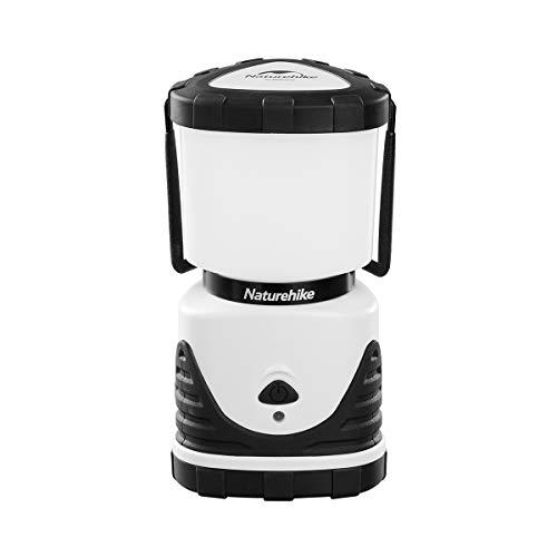 Naturehike公式ショップ LEDランタン LEDライトランプ キャンプ用 テントライト 電池式 携帯型 3つ点灯モード切替 昼白色と暖色 明るさ800ルーメン 連続点灯45時間 防災対応 登山 夜釣り 車中泊 アウトドア ハイキング (ブラック)