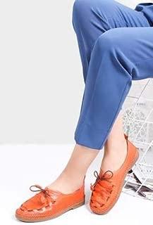 TARÇIN Hakiki Deri Günlük Kadın Babet Ayakkabı TRC74-0021