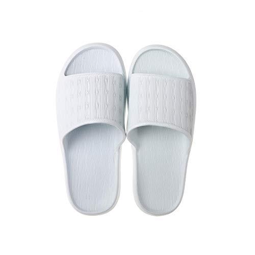 B/H PiscinaNiñaChanclas,Zapatosdebañoparaducha,sandaliascasaparejas-Azul2_39-40,UnisexparaAdultosBañarsePiscinaSandaliasChanclas