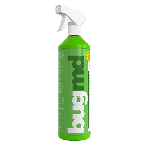 Empty Refillable Spray Bottle (32oz), for use with BugMD Concentrate 4oz (sold separately)