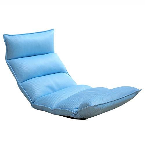Puffs pera Floor Gaming Sofa Chair Lazy Recliner Plegable, Dormitorio Plegable Single...