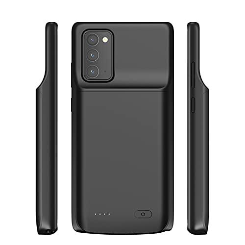 HiKiNS Funda Batería para Samsung Galaxy Note 20 6000mAh Externa Ultra Batería Recargable Power Bank Case Funda Cargador Portatil Batería para Galaxy Note 20