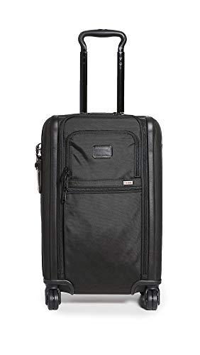 TUMI Men's Tumi Alpha International Expandable Carry On Suitcase, Black, One Size
