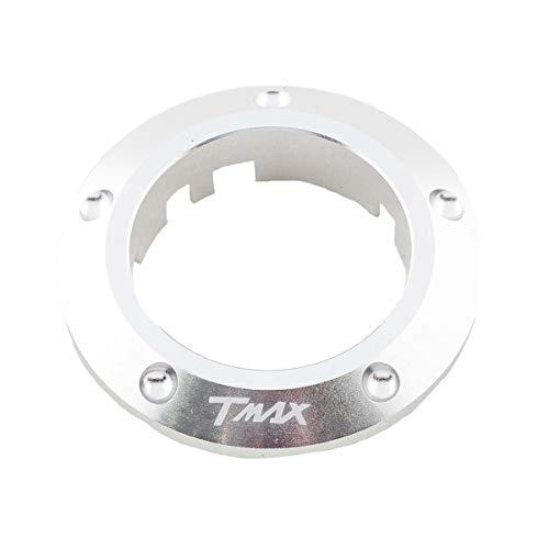 ONE by CAMAMOTO cornice si chiave per yamaha t-max 530, contorno chiave t-max 530, coperchio chiave per yamaha t-max 530 (ALLUMINO)