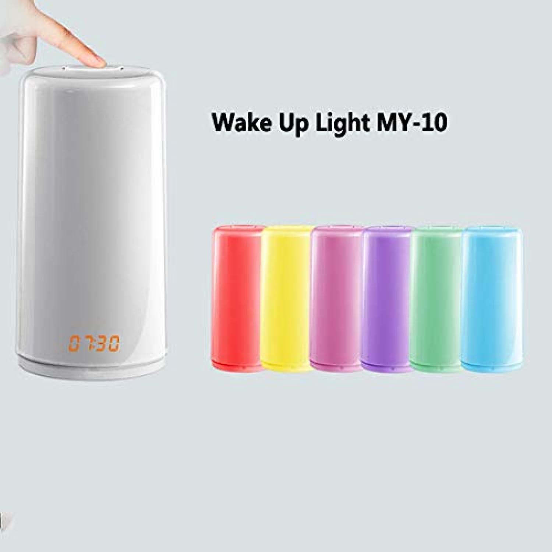TSWCBYY Neues Wecklicht LED Wake-up Licht Wecker Wake-up Light(100  180MM) Digitaler Wecker, Sonnenaufgangssimulation, Schlummerfunktion