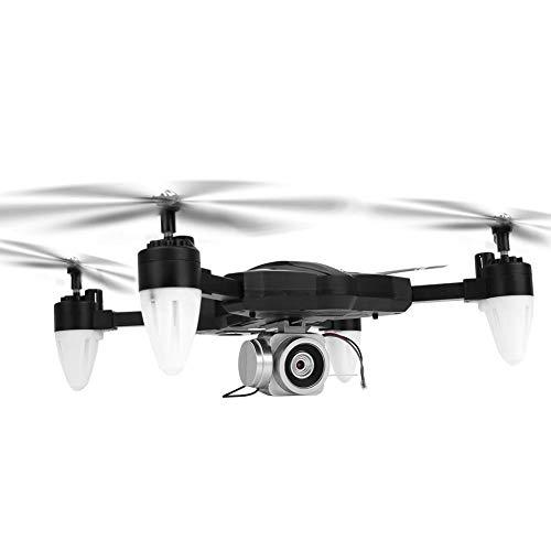 Drone con Luz LED, Drone 2.4G 4CH para Principiantes y Niños, Sin Cámara/ Cámara de 30W/ Cámara de 500W(Cámara de 500W)