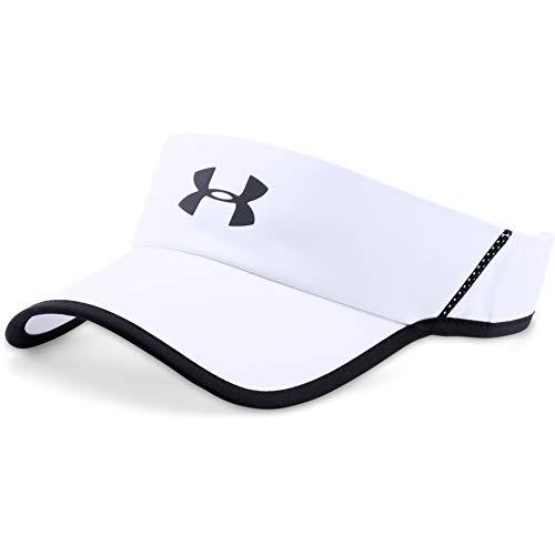 Under Armour Men's Shadow Visor 4.0, Weiß (White 1291841-100), OSFA