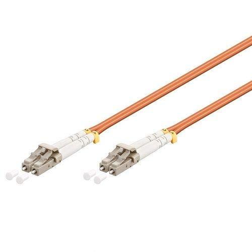 CABLEPELADO Cable de fibra optica LC a LC multimodo duplex 1 M...