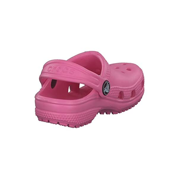 Crocs Kids' Classic Clog, pink lemonade, 8 M US Toddler