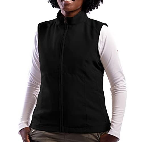 SCOTTeVEST Women's RFID Travel Vest, Black, X-Large