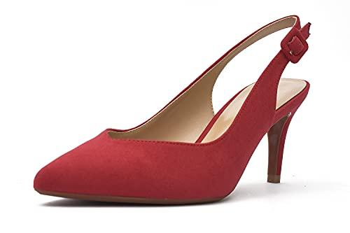 Tacones de Mujer - Zapato de Salón Destalonado - Tacón Aguja de...