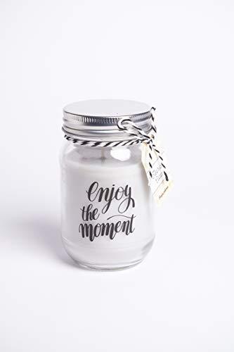 KANDLA, Candele profumate, idee regalo per la festa della mamma, candela profumata, candele decorative. Candele naturali con cera di Soia. Candele per Aromaterapia , (Carezza di Cotone)