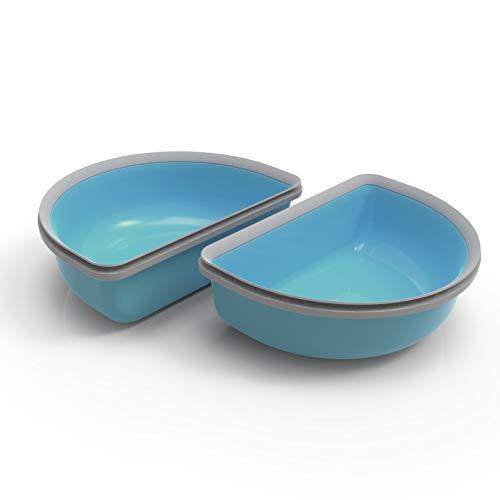 SureFeed - Cuenco de plástico, Color Azul