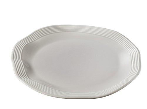 Revol 646805 Assiette Brunch, Porcelaine, Taupe
