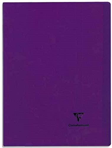 Clairefontaine Koverbook 981411–Cuadernos opaco de polipropileno, 24x 32cm, 96páginas, 1 unidad [colores surtidos]