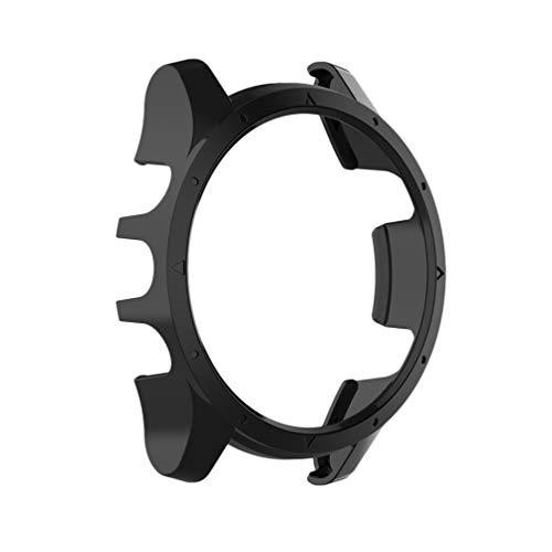 NICERIO - Capa protetora para relógio Garmin Forerunner 935/Garmin Forerunner 945 – Capa protetora para relógio de pulso e policarbonato, macia e fina, para homens e mulheres – Preta
