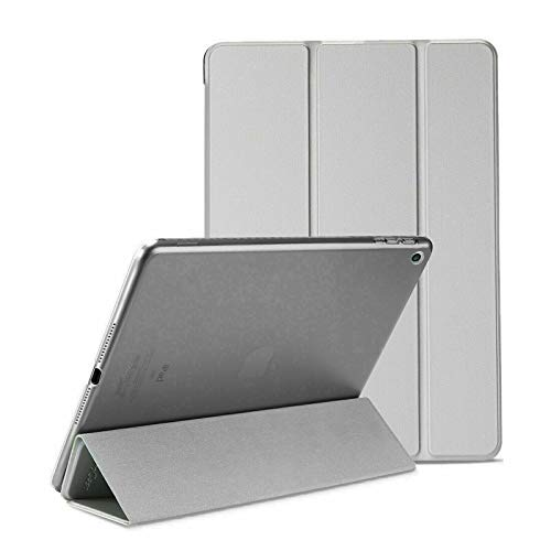 Smart Magnetic Stand Ultra Slim Lightweight Case for iPad 2/3/4 iPad 2nd 3rd 4th Generation 2011/2012 Model Auto Sleep Wake Screen Cover 9.7 inch-Grey