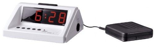PRO Extralauter Wecker mit Vibrationskissen Humantechnik DS-1 Uhr Vibrationsuhr