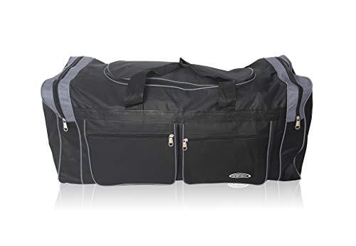 Bolsa XL de Deporte Extra Grande de 80 litros. Maleta para Deporte, Gimnasio, Viaje, Camping y almacenaje. Lona Muy Resistente e Impermeable.Hombre y Mujer.