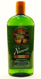 Fantasia Tea Tree Natural Shampoo 12oz (2 Pack)