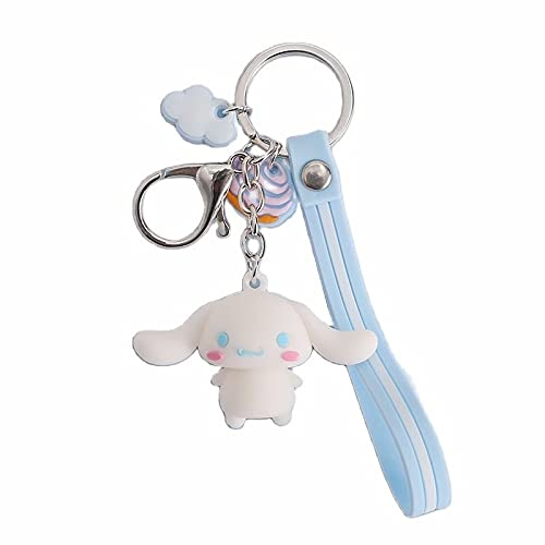 Anime Cartoon Cute Doll KT Cat Frog Keychain Hanging Chain Student Bag...