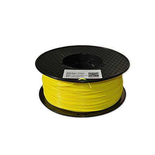 Haute performance 3d imprimante filament ABS filament 1.75mm matériel d'impression 3D en plastique ABS for imprimante 3D et stylo d'impression multicolore en option 1kg Utilisé pour l'imprimante 3D et