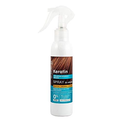 Dr. Sante Haar Spray Keratin für sprödes und glanzloses Haar Wiederherstellung Haar Struktur 150 ml