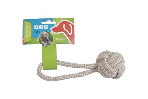 Dog Corde de Jeu pour Chien Naturel 5 x 17 cm