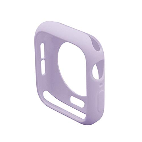Tpu Watch Case Compatible for iwatch 38mm 40mm 42mm 44mm, Soft Bumper Protective Cover for iwatch Series 6 SE 5 4 3 2 1