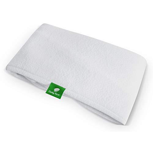Funda de repuesto para almohada de cuña de cama – se adapta a almohada de cuña Cushy Form de 10 pulgadas, hipoalergénica, lavable a máquina (funda de repuesto solo cuña de 10 pulgadas)