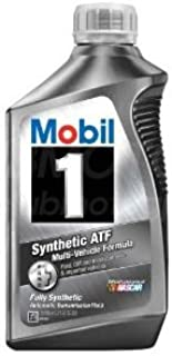 Mobil 1 112980 Synthetic Automatic Transmission Fluid - 1 Quart (Pack of 6)