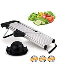 Mandoline Slicer for Home and Professional Use – Vegetable Slicer with Razor Sharp Blades that Do Not Require Maintenance