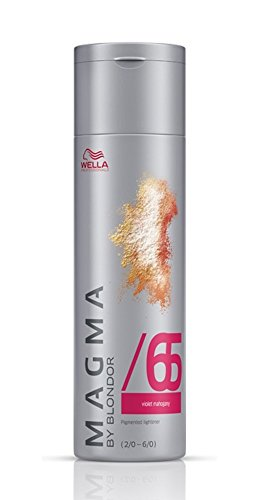 Wella Magma /65 violett-mahagoni 1 x 120 g Dragon Fruit By Blondor Strähnen-Haarfarbe