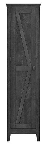 Ameriwood Home Farmington Wide Storage Cabinet 18quot Rustic Gray7531196COM