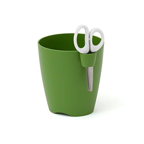 Prosper Plast Dlu150–370u 15 x 16 cm Citron Vert Uno Pot de Fleurs – Olive