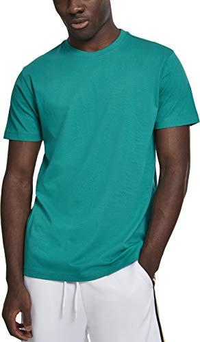 Urban Classics Herren Basic Tee T-Shirt, Grün (Fresh Green 00471), XXXXX-Large (Herstellergröße: 5XL)