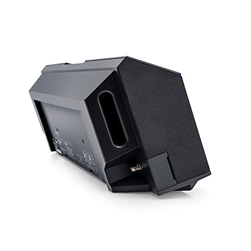 Teufel MUSICSTATION CD-Laufwerk Internet-Radio DAB+ Bluetooth Musik Streaming… (Schwarz)