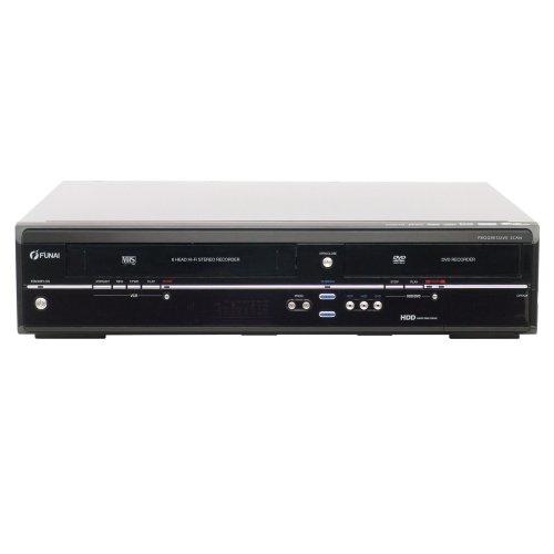 Funai T5 A-A 8482 DB DVD- und Festplatten-Rekorder/VHS-Rekorder Kombination 250 GB (DivX-Zertifiziert, HDMI) schwarz