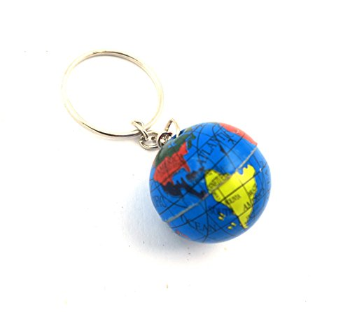 schmuck-stadt Globus Schlüsselanhänger Welt Erdkunde Taschenanhänger