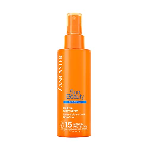 Lancaster Sun Beauty Oil Free Milky Spray Spf15 150 ml
