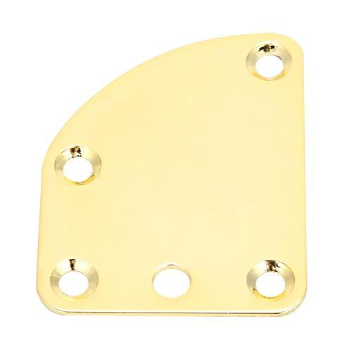 Piezas de guitarra eléctrica fáciles de instalar Placa de cuello de guitarra...