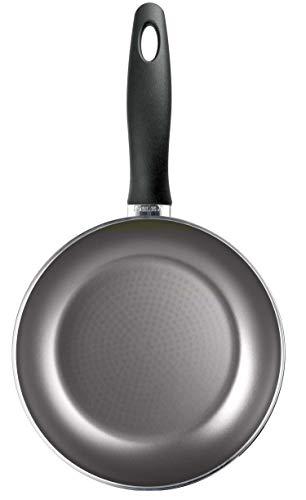 Silex Italia Ecotitan Induction Pfanne, 20 cm, Antihaftbeschichtung, Aluminium