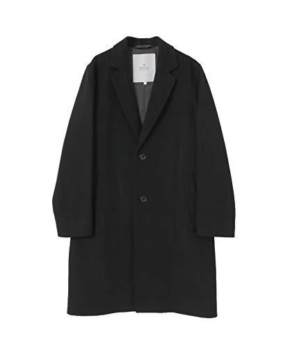 [アーバンリサーチ ロッソ] ジャケット コート メルトンチェスターコート メンズ RA07-17M002 BLACK L
