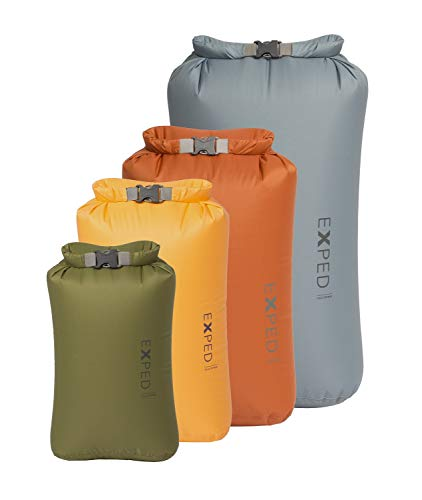 EXPED FOLD DRYBAG CLASSIC 4 PACK SET (X-SMALL - LARGE)