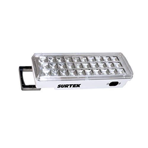 Surtek 136107 Lámpara de Emergencia, 30 Led